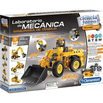 LABORATORIO MECANICA MAQUINARIA DE TRABAJO - CLEMENTONI 55192