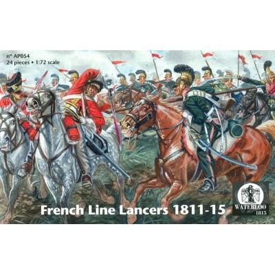 LANCEROS DE LINEA FRANCESES 1811-15 - Waterloo 1815 AP054