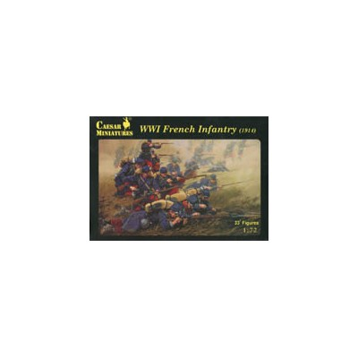 INFANTERIA FRANCESA 1914 - Caesar Miniatures H034