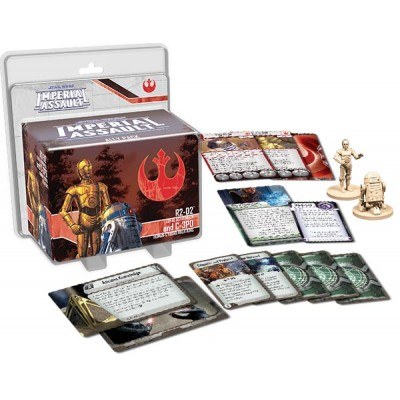 IMPERIAL ASSAULT R2D2 Y C3PO