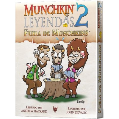 MUNCHKIN LEYENDAS 2 FURIA DE MUNCHKINS