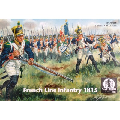 INFANTERIA DE LINEA FRANCESA 1815 - Waterloo 1815