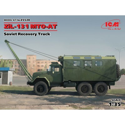 CAMION ZIL-131 MTO-AT (Recuperacion) - ICM 35520