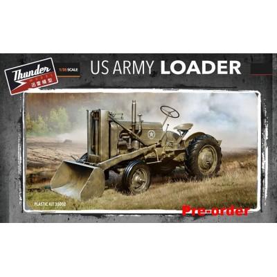 TRACTOR U.S. ARMY CON PALA CARGADORA - Thunder Models 35002