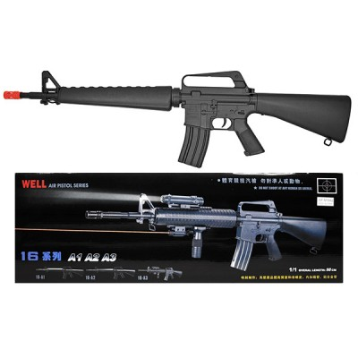 FUSIL TIPO M16 AIRSOFT MUELLE BOLA 6MM