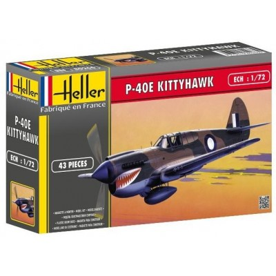 CURTISS P-40 E KITTYHAWK - Heller 80266