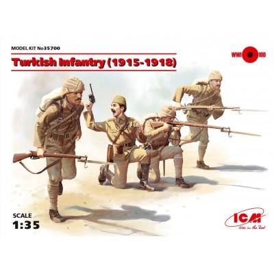 INFANTERIA TURCA 1915-1918 - ICM 35700