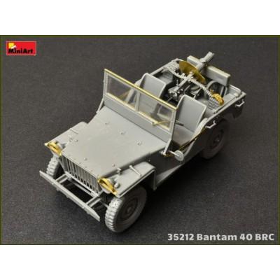 TODO TERRENO BANTAM 40 BRC (Sovietico) & DOTACION - MiniArt 35212