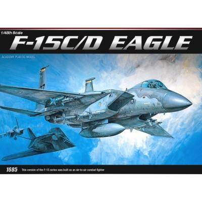 McDONNELL DOUGLAS F-15 C/D EAGLE - Academy 12257