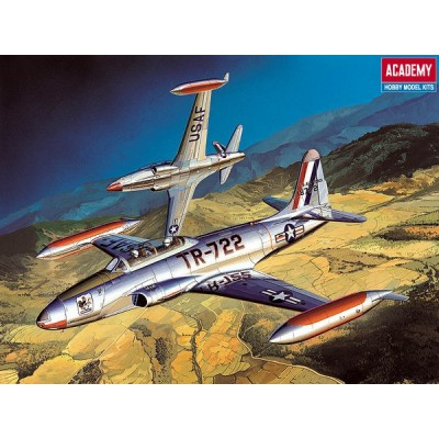 LOCKHEED T-33 A SHOOTING STAR - 1/48 - Academy 12284