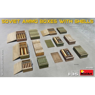 CAJAS DE MUNICION SOVIETICAS - MiniArt 35261