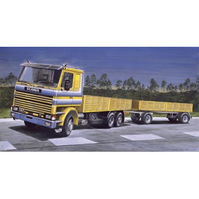 SCANIA 142M Flat Bed - Italeri 770