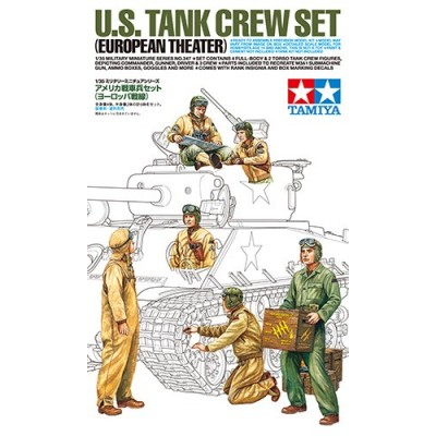 TRIPULACION CARROS U.S. ARMY EUROPA - Tamiya 35347