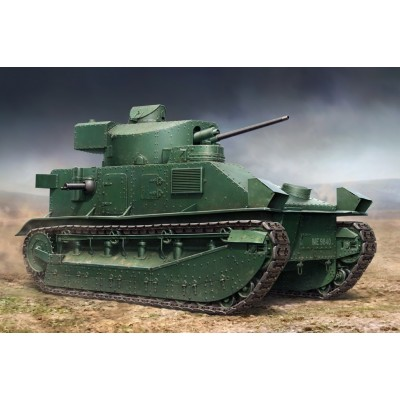 CARRO DE COMBATE VICKERS MEDIUM MK-II - Hobby Boss 83881