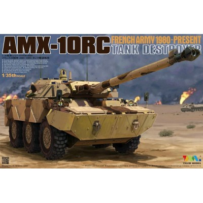 DESTRUCTOR DE CARROS AMX-10RC - Tiger Model 4609