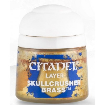 PINTURA ACRILICA LAYER SKULLCRUSER BRASS (12 ml) - GAMES WORKSHOP 22-73
