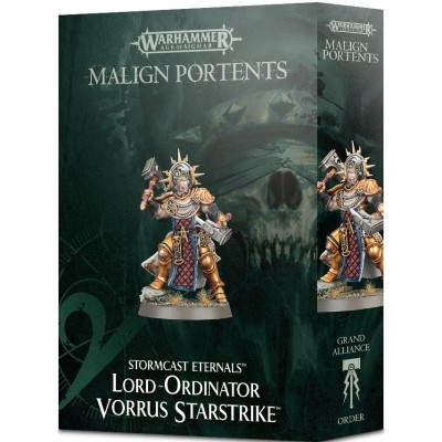 STORMCAST ETERNAL LORD ORDINATOR VORRUS STARSTRIKE - GAMES WORKSHOP 96-36