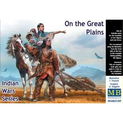 Indian War: ON THE GREAT PLAINS - Master Box 35189
