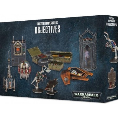 WARHAMMER 40000 SECTOR IMPERIALIS OBJETIVES - GAMES WORKSHOP 40-43