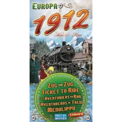 AVENTUREROS AL TREN EXPANSION EUROPA 1912 - DAYS OF WONDER 720111