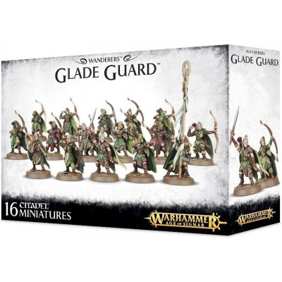 WANDERERS RGTO GUARDIA BOSQUE GAMES WORKSHOP 92-05 - 16 MINIATURAS