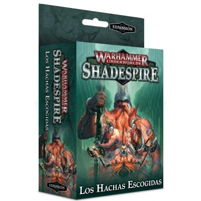SHADESPIRE HACHAS ESCOGIDAS - GAMES WORKSHOP 110-06-03