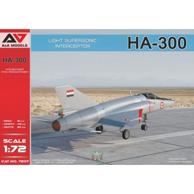 HISPANO AVIACION HA-300 1/72 - A&A Models 7207