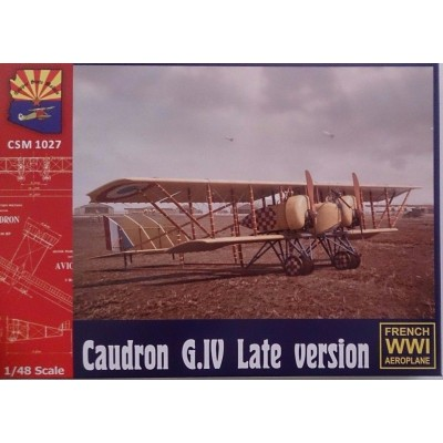 CAUDRON G.IV -LATE- 1/48 - Copper State Models K1027
