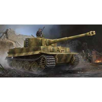 CARRO DE COMBATE Sd.Kfz. 181 Ausf. E (Late) TIGER I escala 1/35 - Trumpeter 09540