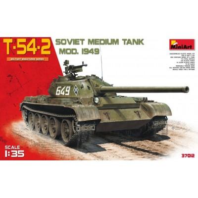 CARRO DE COMBATE T-54-2 Mod. 1949 - MiniArt Model 37012