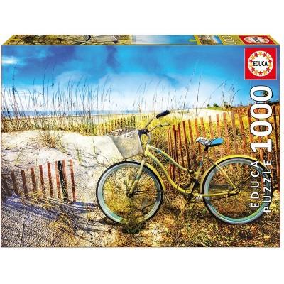 PUZZLE 1000 PZS BICICLETA EN LAS DUNAS - EDUCA 17657