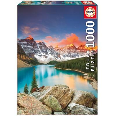 PUZZLE 1000 PZS LAGO MORAINE CANADA - EDUCA 17739