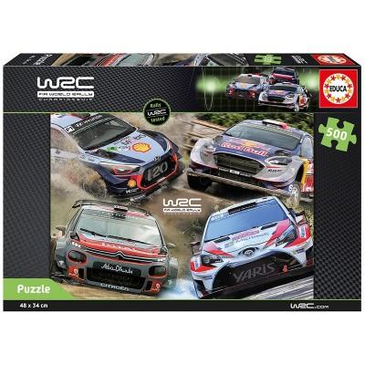 PUZZLE 500 PZS WRC - EDUCA 17686