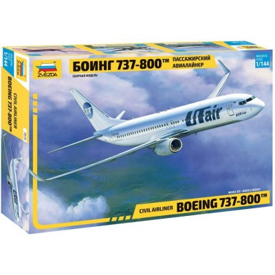 BOEING 737-800 ESCALA 1/144 - Zvezda 7019