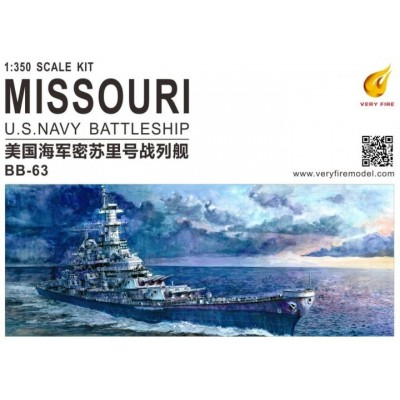 ACORAZADO U.S.S. MISSOURI BB-63 1/350 - Very Fire Model VF350309