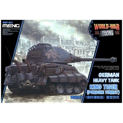 CARRO TIGER II -TOONS- Meng Model WWT-003