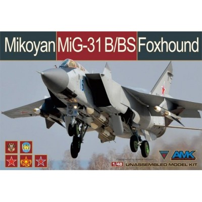 MIKOYAN GUREVICH MIG-31 B/BS FOXHOUND - AMK Avangarde 88008