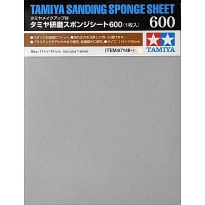 ESPONJA DE LIJADO grano 600 - Tamiya 87148