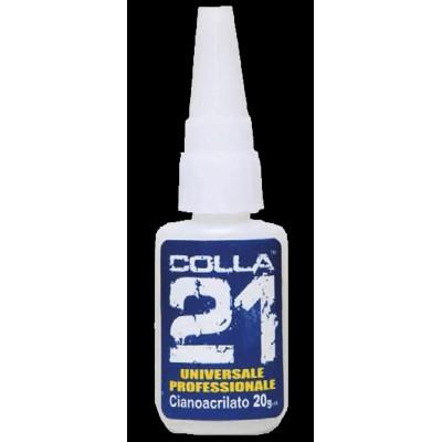 PEGAMENTO UNIVERSAL -Cianoacrilato- COLLA 21 - COLLA 21