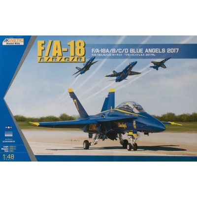 McDONNELL DOUGLA F/A-18 A/B/C/D HORNET (BLUE ANGELS) - KINETIC K48073