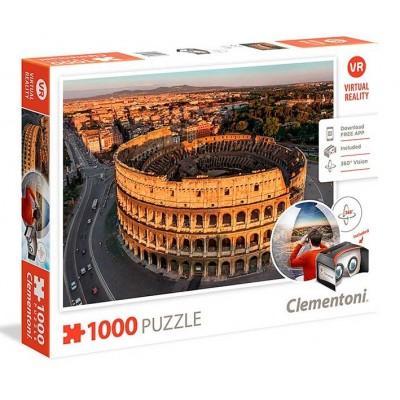 PUZZLE 1000 PZS VIRTUAL ROMA - CLEMENTONI 39403
