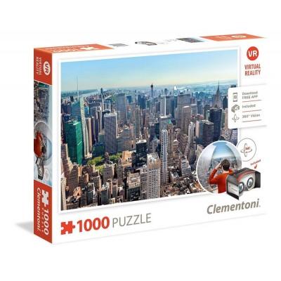PUZZLE 1000 PZS VIRTUAL NEW YORK - CLEMENTONI 39401