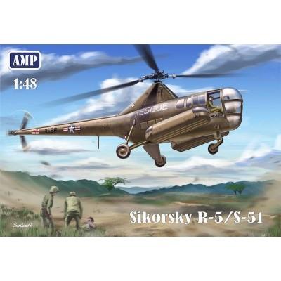 SIKORSKY R-5 / S-51 1/48 - AMP 48002