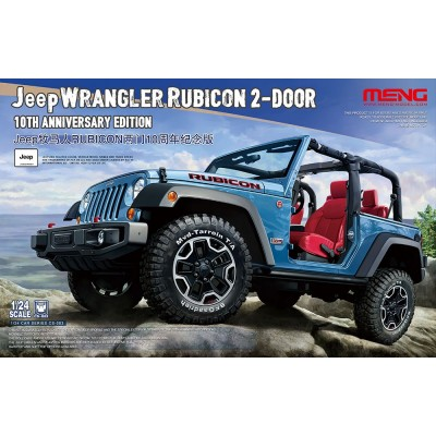 JEEP WRANGLER RUBICON 2-DOOR -1/24- Meng Model CS-003