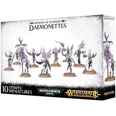 DEMON. DIABLILLAS DE SLAANESH