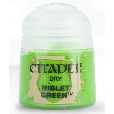 PINTURA ACRILICA DRY NIBLET GREEN (12 ml)