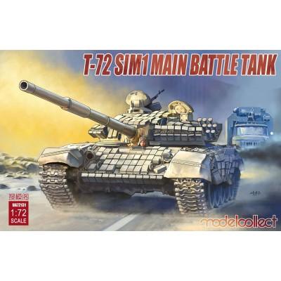 CARRO DE COMBATE T-72 SIM1 1/72 - Modelcollect UA72131