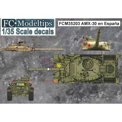 SET CALCAS AMX-30 EN ESPAÑA - FC Modeltips 35203