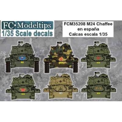 CALCAS M-24 CHAFFE ESPAÑA