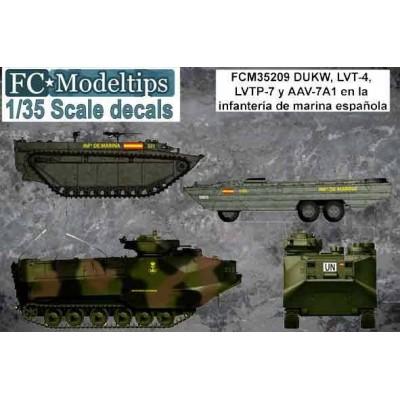 CALCAS VEHICULOS ANFIBIOS ESPAÑOLES - FC Modeltips C35209